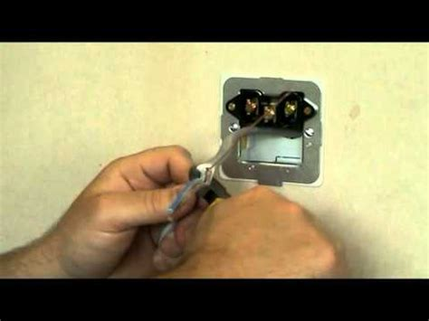 Tv Wall Unit by How To Change A Cooker Connection Unit Youtube