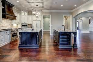 two kitchen islands two islands kitchen design two islands new house ideas