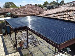 Pergola Roof Sheets by Installing Polycarbonate Roofing Images
