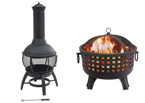 chiminea vs pit outdoor goods