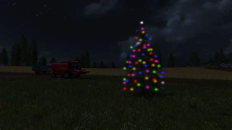 placeable christmas tree ls 17 farming simulator 2017 fs