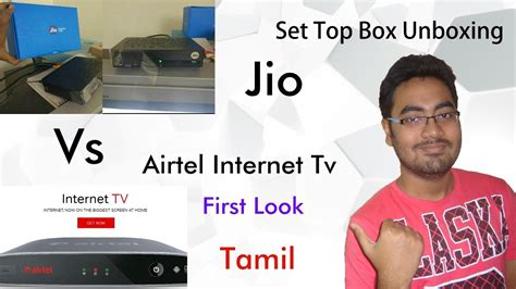Mba Vs Technical Masters by Jio Set Top Box Unboxing Vs Airtel Tv