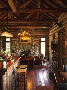old wooden beams and stone walls guarantee a warm rustic vintage country cottage with clear finished wood interiors