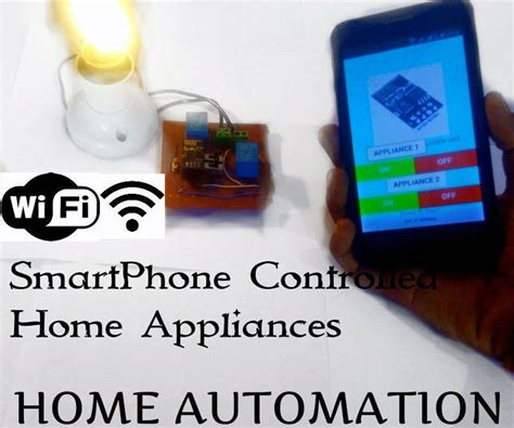 home automation with esp8266 wifi without using blynk all