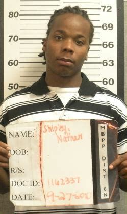 Missouri Arrest Records Nathan Shipley Inmate 1162337 Missouri Doc Prisoner Arrest Record
