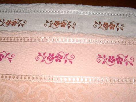 cenefas para toallas patrones de toallas de punto de imagui punto