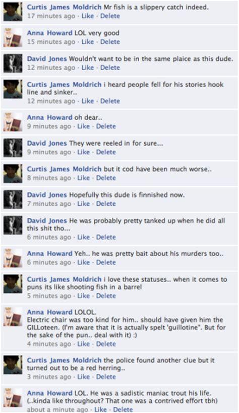 fb jokes stefidoo albert fish fb status pun jokes