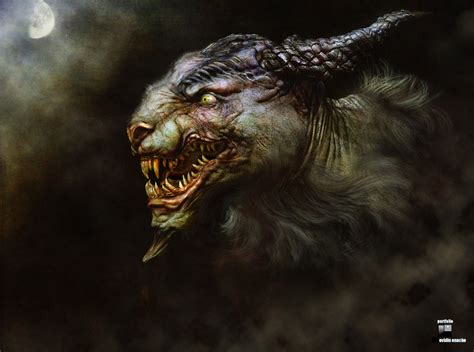 biography of movie creature 3d zbrush sculpted monster by ovidius cg 3d render