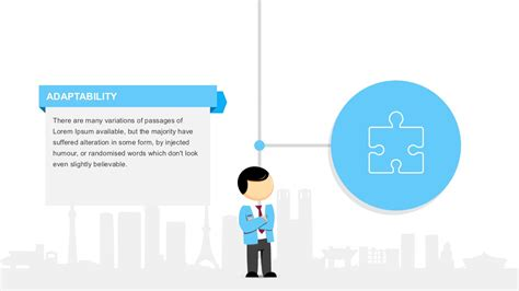 template powerpoint hr employee profile diagram powerpoint template