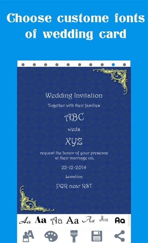Wedding Card Maker   Android Apps on Google Play