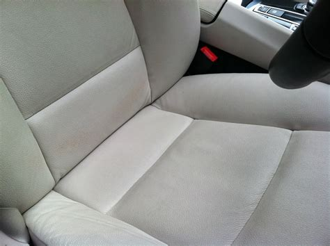 leather upholstery dye 2013 bmw ivory white leather seats a 2 or 3 months
