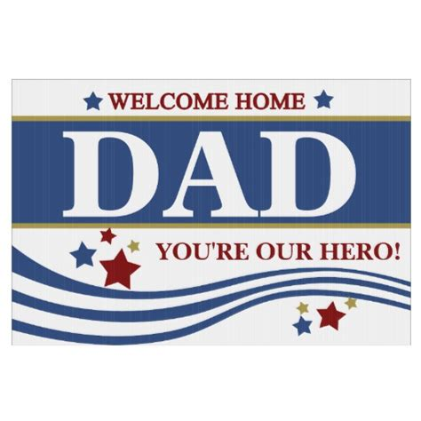 welcome home signs zazzle