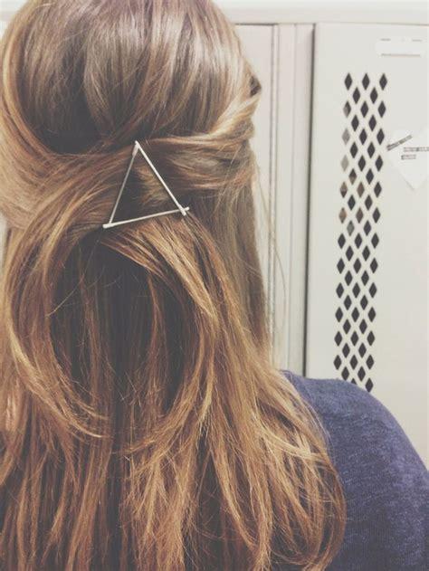 Theeffortlesschic bobby pin hair art keeley kraft