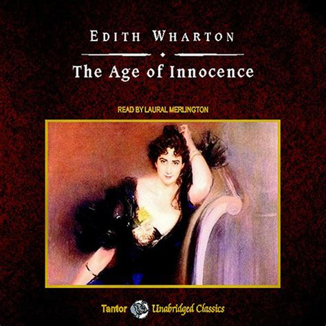 innocence books the age of innocence audiobook by edith wharton
