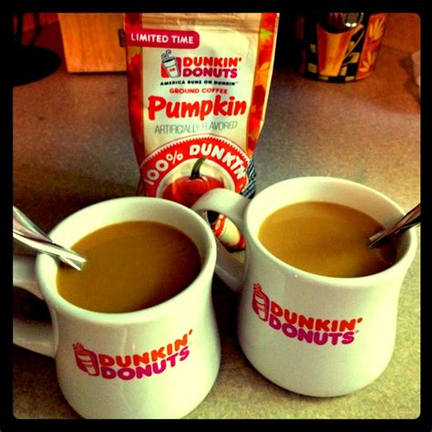 Dunkin Donuts Pumpkin Coffee by Autumn S In The Air Recording Artist Aston S