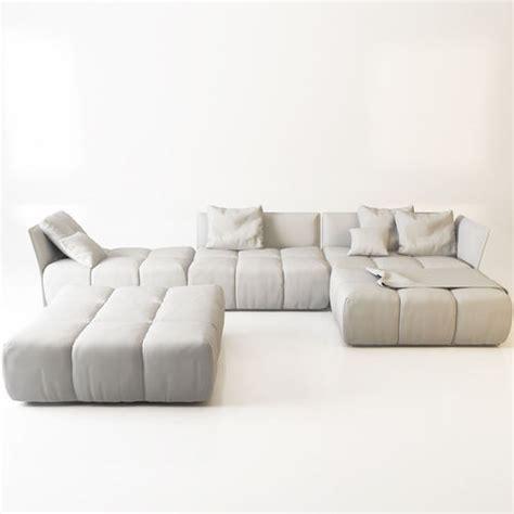 pixel couch sofa saba pixel 3d model max obj fbx cgtrader com