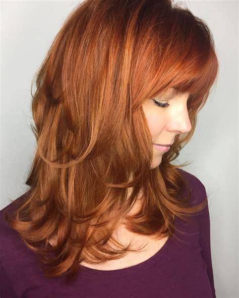 Layered Hairstyles With Bangs by 17 Hairstyle Ideas Designs Haircuts Design