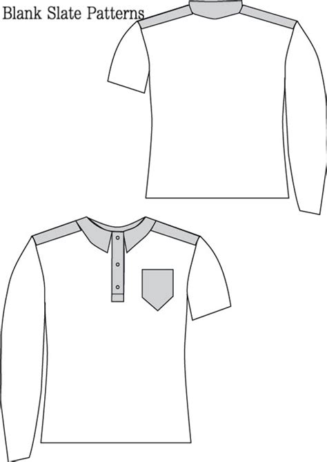 pattern empty line blank slate perfect polo child s shirt downloadable