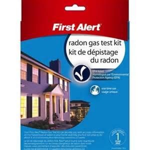 home radon test alert radon test kit lowe s canada