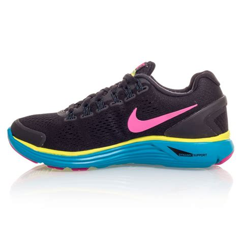 Ardiles Malovic Black Yellow Running Shoes nike lunarglide 4 gs junior running shoes black pink yellow blue sportitude