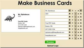 make free business cards how to design make and print business cards for free