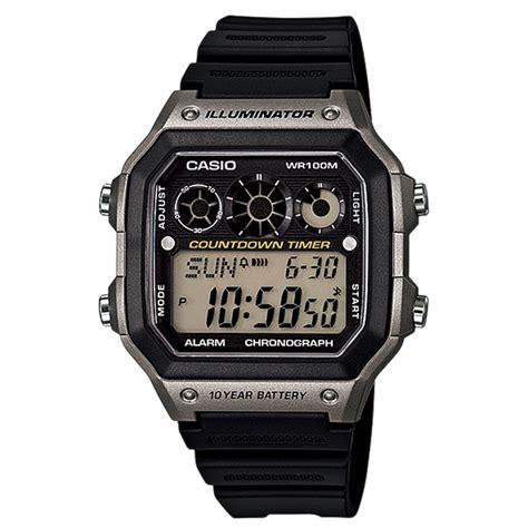 Jam Tangan Armitron 40 8284 casio digital led world time longlife stopwatch gent s