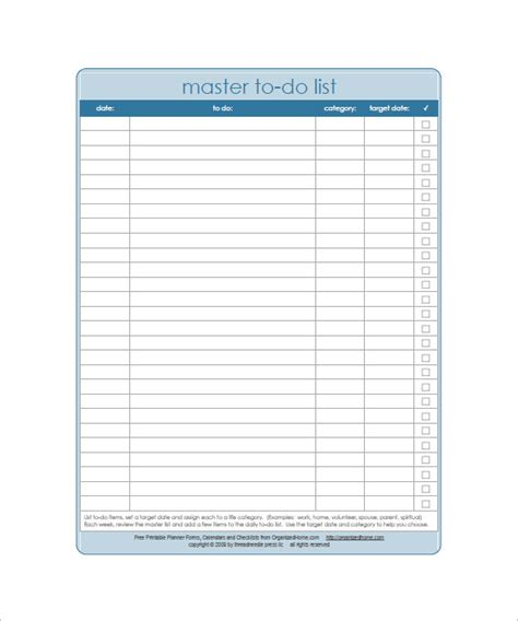 weekly todo list template weekly to do list template 6 free word excel pdf