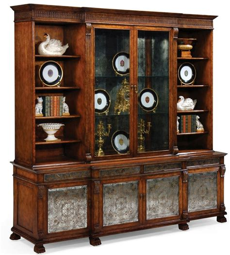 Dining Room China Cabinet Breakfront China Cabinet High End Dining Rooms Home Furnishings Dining Room Sets Bernadette