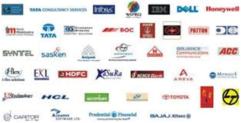 Top Mba Companies In Delhi by Names And Logo Of Top 50 Mnc In India