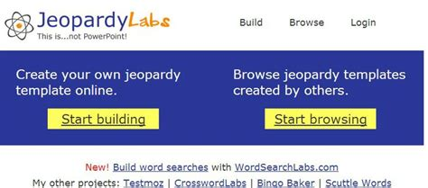 jeopardy template for google docs 1000 images about technology and school on pinterest