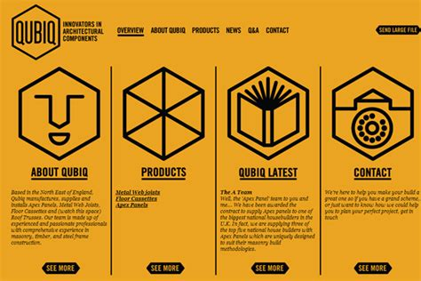 web design layout types 40 high quality yellow website layouts for inspiration