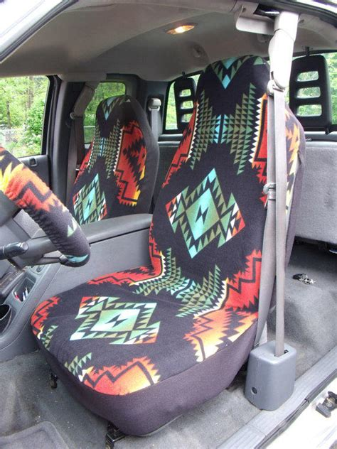 1 set of aztec print car seat covers and from chailinsews