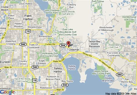 map of oldsmar florida map of inn express hotel and suites oldsmar oldsmar