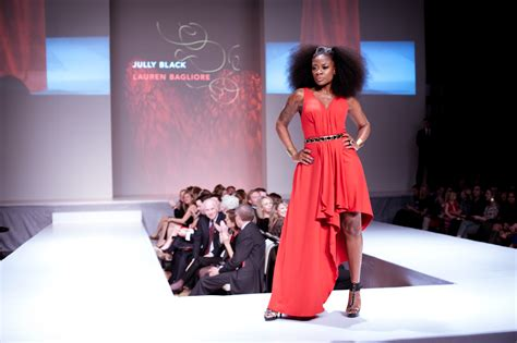 Of Fashion Exhibition by File Jully Black Wearing Bagliore And