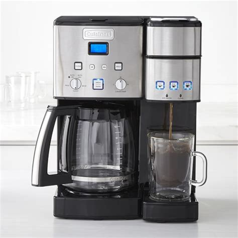 Cuisinart 12 Cup & Single Serve Coffeemaker   Williams Sonoma
