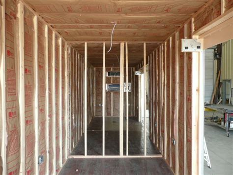Exterior Wall Thickness by Insulated Shipping Containers Insulating Cargo