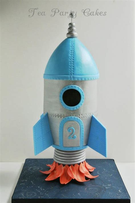 How To Make A 3d Rocket Out Of Paper - rocket in space ship cake pics about space
