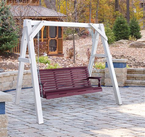 porch swing frames 5 classic porch swing yard porch swings sales prices