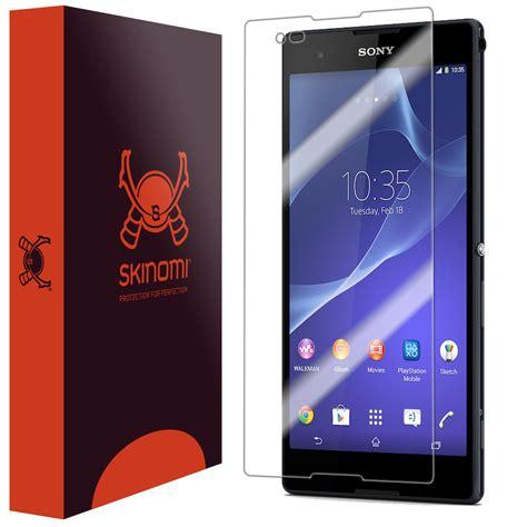 Hp Sony Xperia Ultra T2 skinomi techskin sony xperia t2 ultra screen protector