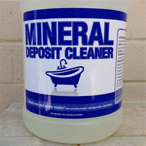 mineral cleaning mineral deposit cleaner concentrate make cleaning easy