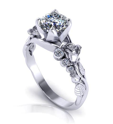 unique engagement rings wedding promise diamond