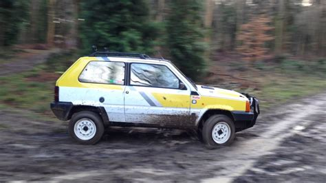 Fiat Panda Puts Osama Out Of Work by Fiat Panda Classic Huey The 4x4 Road