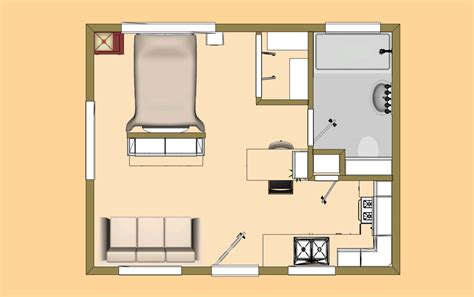 320 square feet the 320 sq ft version of our floor plan we call the