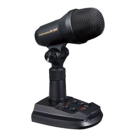 Yaesu Desk Mic by Yaesu M 100 Desktop Microphone