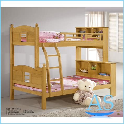 childrens wooden bedroom furniture popular good quality beech solid wood kids bunk bed