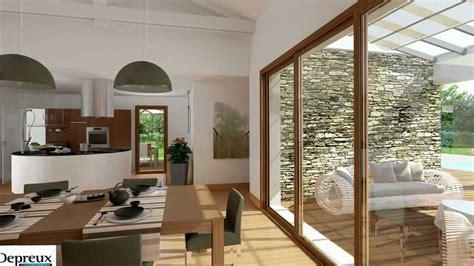 maison decoration interieur moderne villas cuisine visite d interactive d une maison depreux