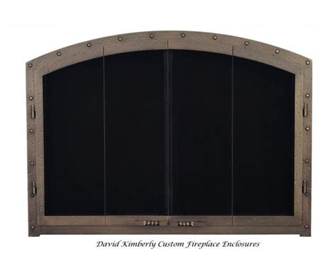 David Fireplace Doors by Masonry Fireplace Glass Doors Northwest Metalcraft