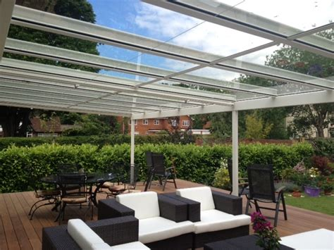 Retractable Roof Awnings Terrace Covers Polycarbonate Amp Glass Verandas Fixed