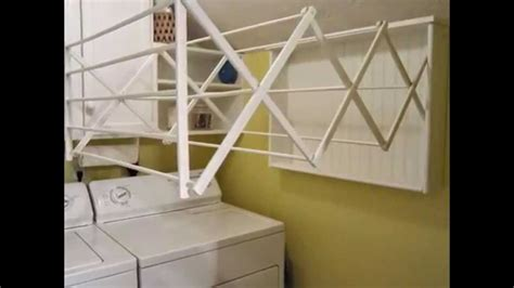 Ballard Designs Drying Rack wall mounted drying rack by optea referencement com youtube