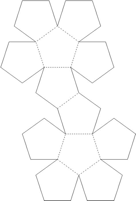 dodecahedron template kayat kandi an origami dodecahedron